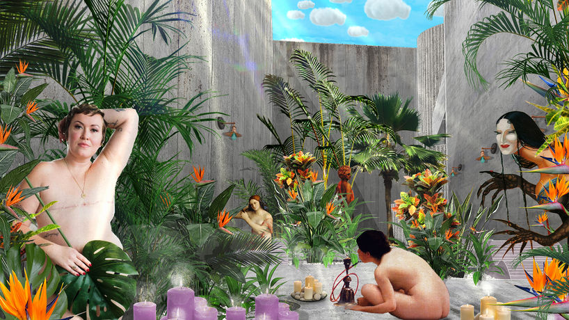The baths for queer defense and [de]liberation by Reily Joel Calderón Rivera, Puerto Rico