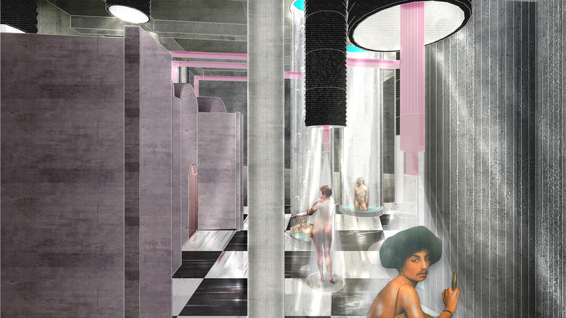 The baths for queer defense and [de]liberation by Reily Joel Calderón Rivera, Puerto Rico