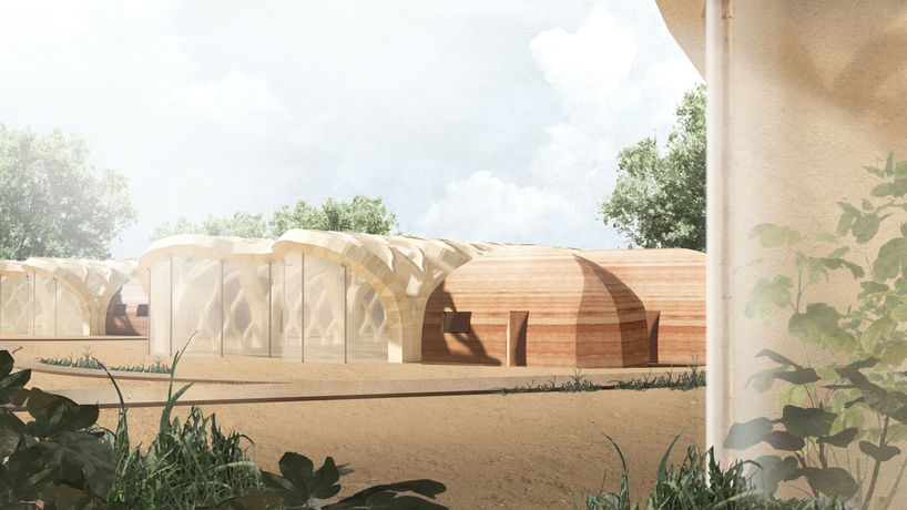 Inflatable greenhouses by Eliza Hague, India