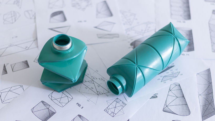 Origami Bottle by DiFold