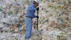Japan strips bottle labels in recycling push