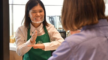 Starbucks Japan signals support to the D/deaf community